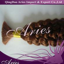 virgin chinese curly human hair bulk,raw hair