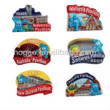 Resin Personalized Fridge Magnet Souvenir 2013