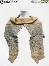 brown pashmina shawl with beautiful pattern
