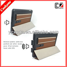 multi-function pu leather case for ipad mini accessories