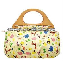 2015 new design Printed Canvas Tote Bags/ Handbags For Ladies