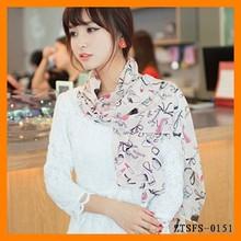 New lipstick high-heeled shoes silk scarf grow gauze kerchief scarf (160 * 70) large size