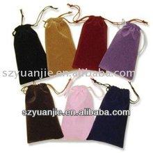 Hot sale velvet cell phone pouch