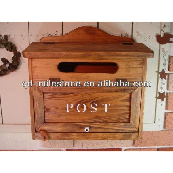 Почтовый деревянный ящик своими руками