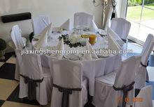 Taffet banquet decoration chair sash