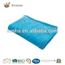 2015 NEW Super Soft Coral Fleece Blanket with set off print color