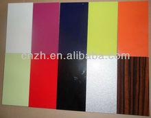 acrylic kitchen doors, acrylic cabinet door lamination and Melamine Faced MDF both sided Modular Kitchen acrylic cabinet door