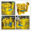 Low price brick making machine cost QMY4-30 precast concrete mold