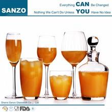 hand blown custom wholesale drinking glass
