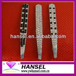 flower white black design rubber tipped smart tweezers vetus tweezer