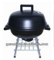 """Shinerich SRYH1450 14の""""灰皿が付いている円形の卓上の木炭BBQのグリル"""
