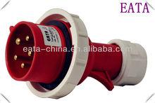 IP67 IEC/CEE WATERPROOF INDUSTRIAL POWER PLUG 3P+N+E 5PIN 16A 380V 0152