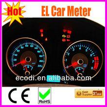 Hottest!! High brightness&various design automobile meter/el automobile meter