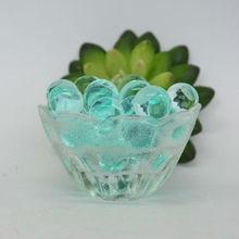 Aqua green water beads/crystal soil/ jelly ball