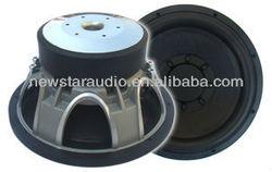 12 inch dual magnet aluminum subwoofer