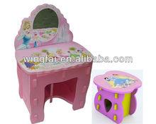 Princesa cómoda y silla para la muchacha, Eva muebles