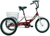 16 inch three steel wheels kids tricycle children bike SY-TR16R01