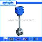 digital vortex gas flow totalizer meter