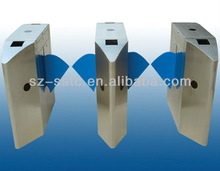 RFID access control high speed flap/wing barrier gate security turnstile