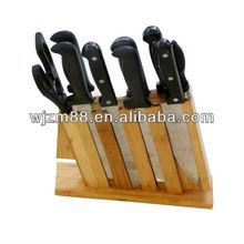 bamboo butcher knife holder