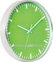 Kitchen Wall Clocks Green Dial