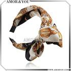 Paris Fashion Chiffon Bowknot Hair Band Attractive Hair Accessories Avaliable For Supply