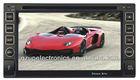 6.2 inch digital screen double din car gps navigator with TV