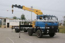 10 ton hydraulic Telescopic Boom Crane manufacturer