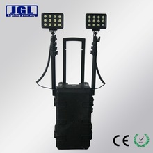 HID portable rechargeable light high power rechargeable hand held 55w remote portable marine search light, Guangzhou factory