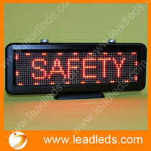 led lights 12v car remote control board for notice and display