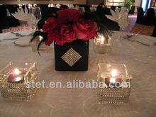 Colorful Decorative Sparkle Rhinestone Mesh For Cake/Wedding/Party