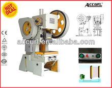 Prensa mecanica J23-25 Ton, pulse 25Tonelada potencia la capacidad, volante mecanico de prensa