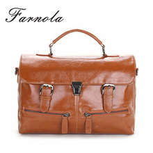 UK style high quality vintage leather satchel wholesale