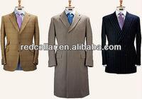 custom overcoat and blazer