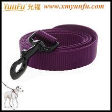 Fashion Plastic Buckle Nylon D- Ring sport dog Leash