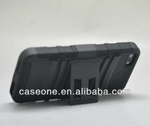 Super combo case for iPhone 5 with kickstand
