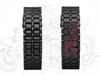 2013 LED watch iron samurai led watch Lava Style LED watch