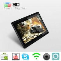 ultra digital tablet 7 inch tablet PC Q88 CPU Allwinner A13 ram 512 mb flash 4GB ultrathin Android 4.0 mini laptop