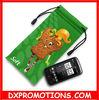 microfiber drawstring phone bag for iphone/microfiber bag