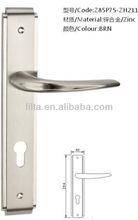 morden style zinc alloy door handle lock