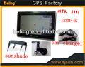 G503 nuevo modelo de gps, 2013 nueva llegada 5 pulgadas gps 128m+4g, de navegación con ganar ce6. 0, mtk3351car de navegación con bluetooth+av- en
