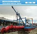 cortador hidráulico de succión de arena buque de dragado