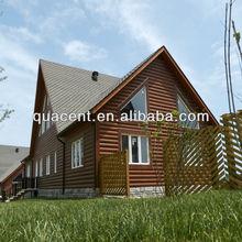 wood prefab home