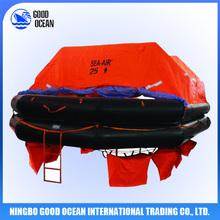 Solas inflatable life raft (EC certificate)