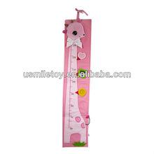 plush height chart,kids height chart,toy height chart