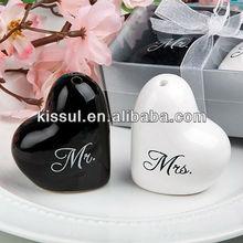 Mr. and Mrs. Salt and Pepper Shaker Wedding Favors