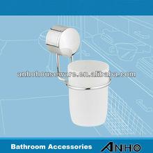 stainless steel bathroom tumbler holder