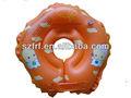 Hot ventes 2013 bébé de natation gonflables anneau de cou avec le logo de personnaliser/anneau cervical gonflable