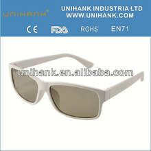 2012 3d circular glasses design for wearing glasses people
