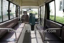 17 passengers electric city bus